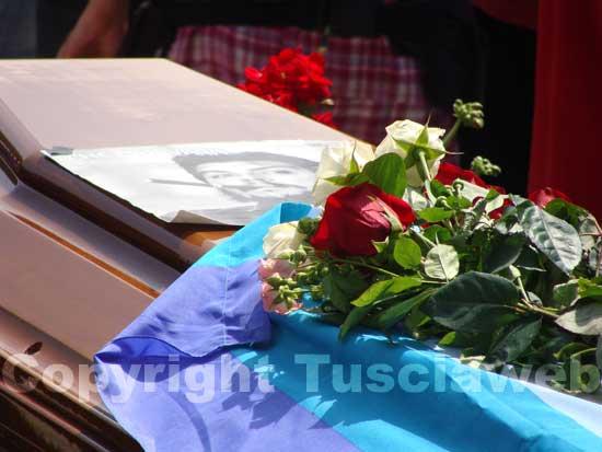 I funerali di Alfio Pannega