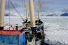 Nave Italica in vista dell'Antartide