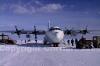 C130 dopo l'atterraggio