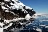 Riflessi di ghiaccio a Coulman island