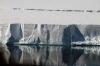 Il ghiacciaio dove entra in mare