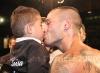 Di Luisa bacia il figlio