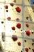 Le rose in stoffa sulla superficie della Macchina