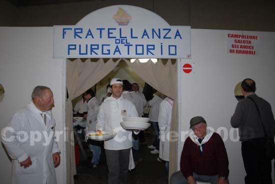 Gradoli - Pranzo del Purgatorio