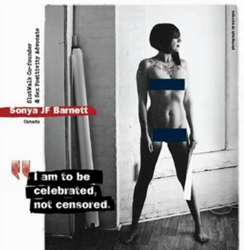 Iraniane nude per i diritti delle donne