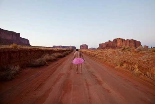 L'uomo con il tutù rosa
