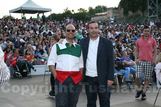 Claudio Ferri e il maestro Stefano Vignati