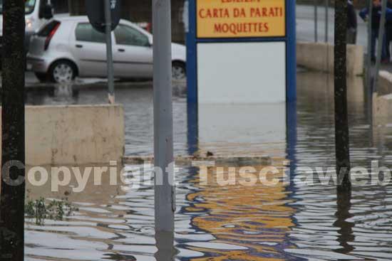 La tangenziale sotto l'acqua