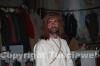 Uno dei figuranti che interpreta il Cristo