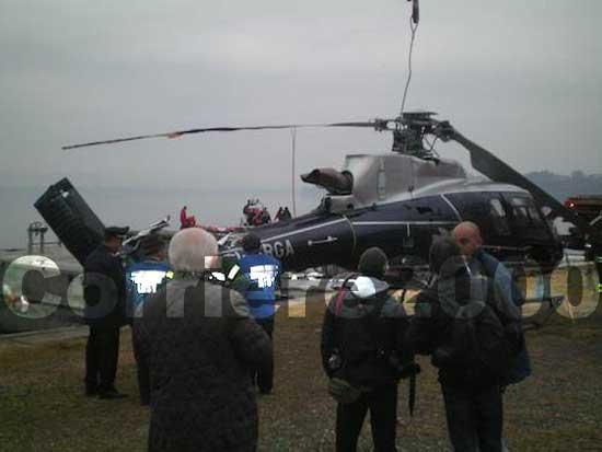 Il recupero dell'elicottero Marcello Gabana