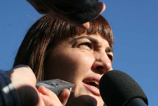 Renata Polverini, candidata del Pdl alla presidenza della Regione Lazio
