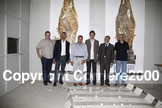Foto di gruppo con gli amministratori