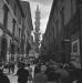 Il volo d'Angeli il giorno dopo il drammatico fermo viene smontata in via Cavour