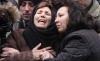 Omicidio Rizzello - La madre di Marcella al funerale