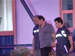 <p>Paolo Esposito dopo l'arresto</p>