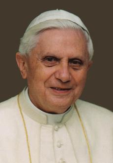 <p> Papa Benedetto XVI</p>