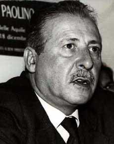 <p> Paolo Borsellino</p>