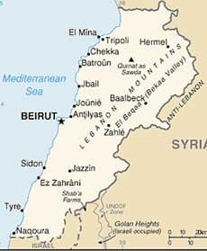 <p>Libano</p>