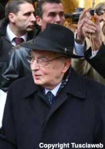<p> Giorgio Napolitano</p>