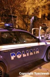 <p>Una pattuglia della polizia </p>