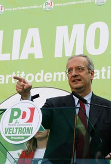 <p> Walter Veltroni</p>
