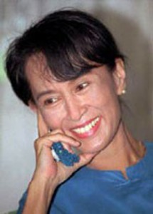 <p> Aung San Suu Kyi</p>