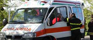 </p> <p>Ambulanza</p>