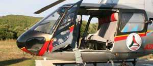 <p>L'elicottero della protezione civile</p>