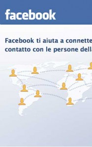 <p>L'interfaccia di Facebook</p>