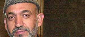 <p>Hamid Karzai </p>