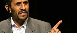 <p>Mahmoud Ahmadinejad</p>