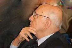 <p>Il presidente Giorgio Napolitano</p>