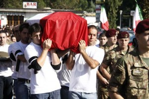 I funerali di Giandomenico Pistonami