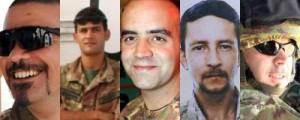 <p>Militari morti a Kabul</p>