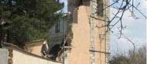 <p>Una casa danneggiata dal sisma</p>
