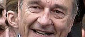 <p>Jacques Chirac</p>