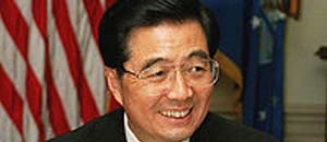 <p> Hu Jintao</p>
