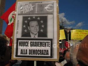 <p>Manifestazione a Roma sulla libertà di stampa</p>