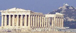 <p> Una veduta di Atene</p>