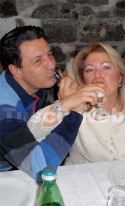 <p>Il sindaco Marini e Antonietta Russo</p>