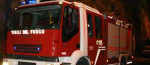 <p>Il camion dei vigili del fuoco</p>