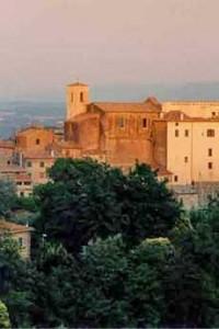 <p>Il castello Costaguti a Roccalvecce</p>