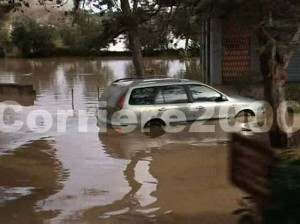 Alluvione a Montalto di Castro