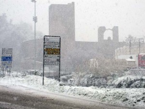 <p>Neve a Viterbo</p>