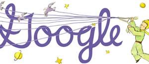 <br />Il logo di Google dedicato a Sant-Exupery