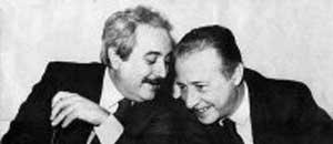 <p>Giovanni Falcone e Paolo Borsellino</p>
