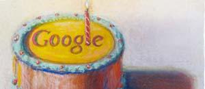 <br />Il logo di Google in occasione del dodicesimo compleanno