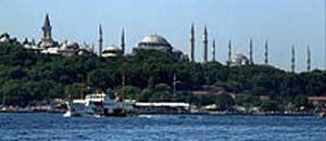 <p>Una veduta di Istanbul</p>