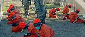 <p>I detenuti di Guantanamo</p>
