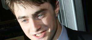 <br />Daniel Radcliffe, protagonista della saga di Harry Potter